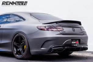 Mercedes S63 Coupe Mercedes Amg S63 Coupe Gets More Power Than S65 With