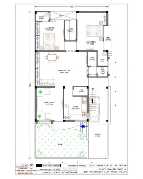 home design 30 x 60 20 60 house plan india