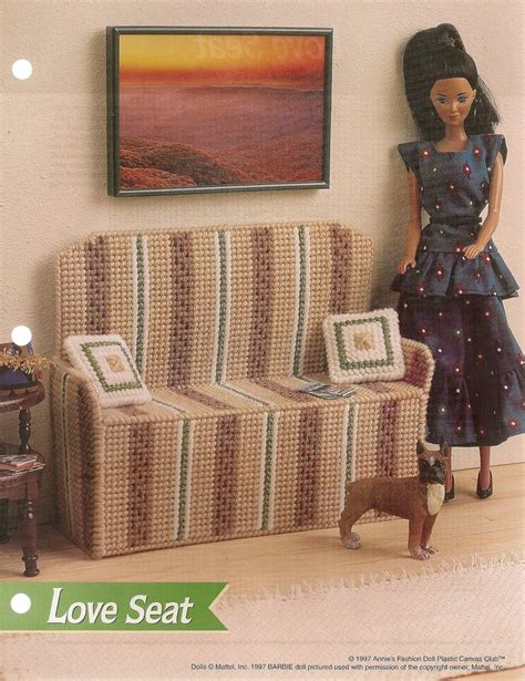 fashion doll furniture patterns seat fashion doll furniture plastic canvas pattern