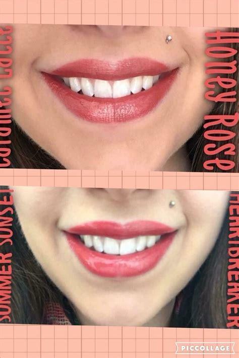 compare colors side by side lipsense color comparison shop laliplounge