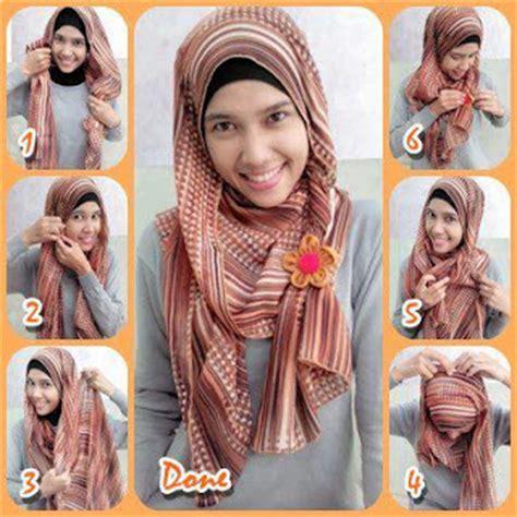 Model Kerudung Pashmina 4 gaya cara memakai jilbab segi empat model pashmina