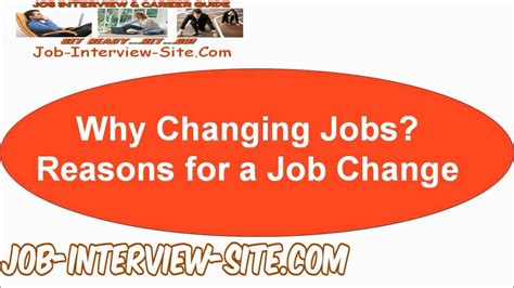7 Reasons To Make A Career Change by Why Changing Reasons For A Change