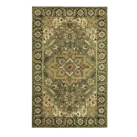 home decorators collection rugs home decorators collection normandie sage 8 ft x 11 ft