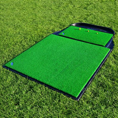 proactive hitting practice chipping amp driving golf grass mats
