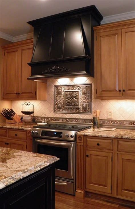 kitchen central traditional with stove range design showcase custom hoods range