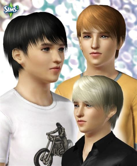 military haircuts sims 3 the sims 3 jagged edges hairstyle for boys conversion