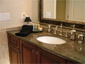 granite bathroom countertop countertops