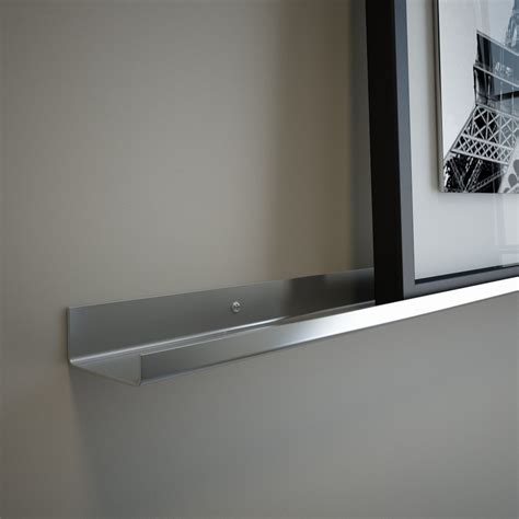 5 Ft Wall Shelf by 5 Ft Stainless Steel Floating Ledge For Photos And Pictures