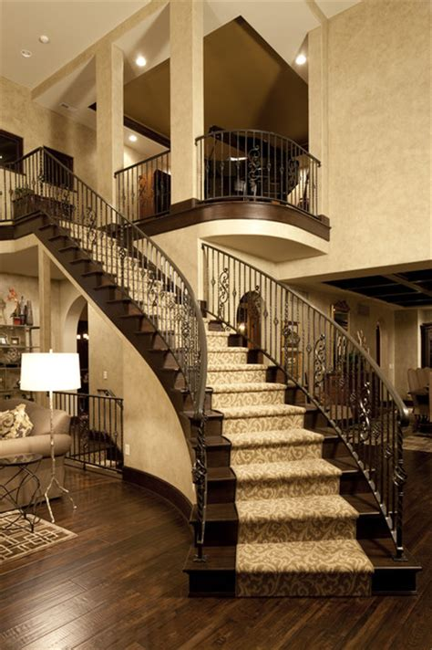 Just Two Fabulous Staircases by Home Great Rm Traditional Staircase
