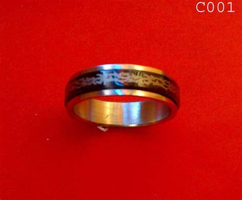 Cincin Jari Bahan Stainless Steel etalase cincin distro kaki 5