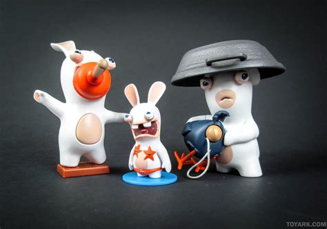 figure news and review toyark gallery and review mcfarlane rabbids