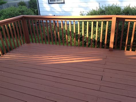 deck sherwin williams superdeck applied   home