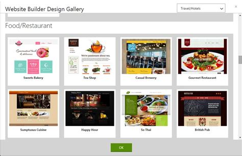 Godaddy Website Builder Review Site Builder Awards Godaddy Template Gallery