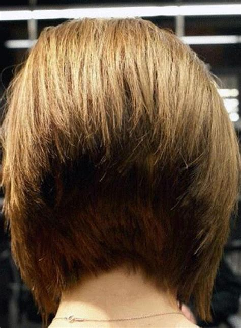 wedge haircuts front and back views layered wedge haircut back view short hairstyle 2013