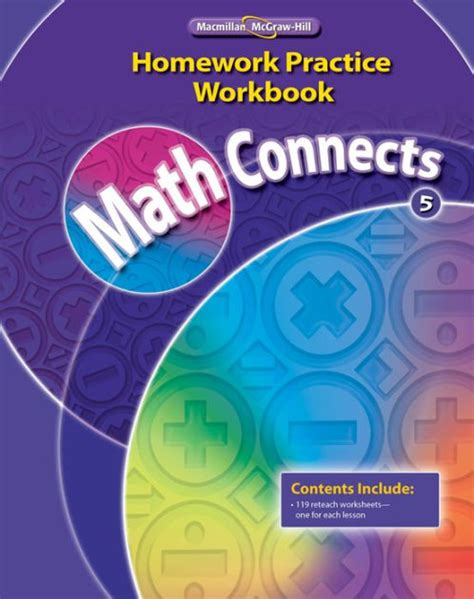 Connected Mathematics 2 Homework by Math Connects Grade 6 Answer Key Glencoe Mcgraw Hill