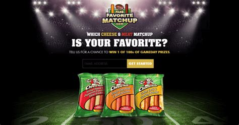 Frigo Cheese Sweepstakes - fansfavoritematchup com frigo cheese heads fans favorite matchup sweepstakes