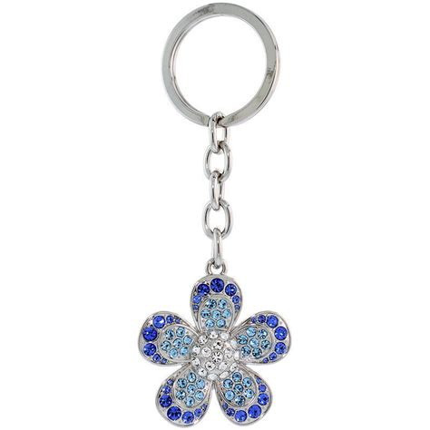 coloring page key chain large flower key chain key ring key holder w swarovski