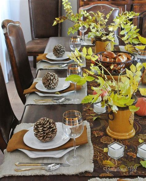 thanksgiving table set s thanksgiving table centsational