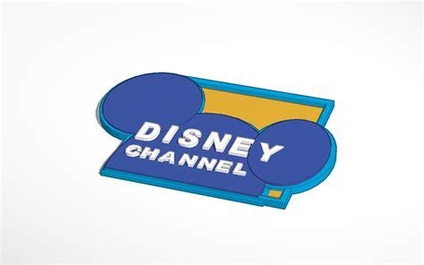 disney channel logo 3d design disney channel logo tinkercad