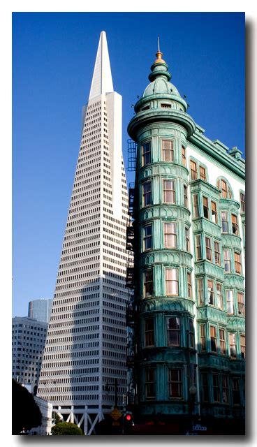 san francisco landmarks columbus tower  transamerica