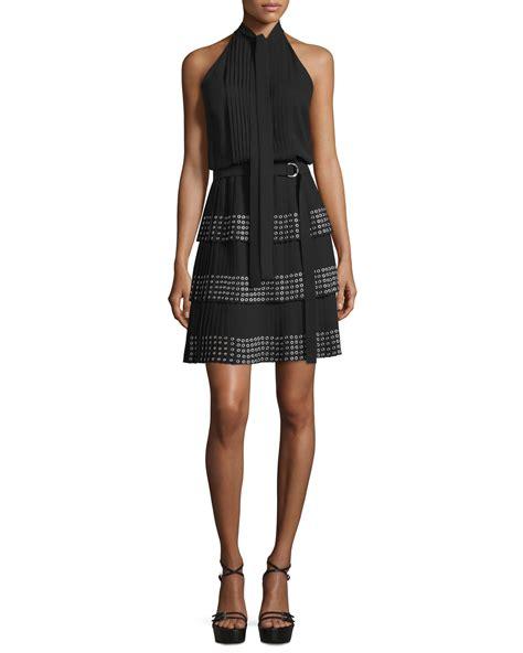 M Hael Kors 4 2cm Jpg michael kors sleeveless dress w grommet embellished skirt