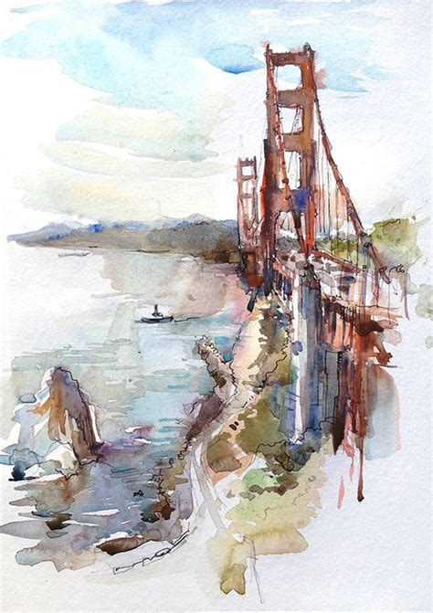 urban watercolor sketching a urban sketchers one bridge two takes l arte urban sketchers sketchers and urban