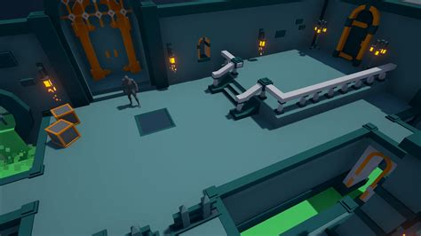 Small Home Blueprints Desk Dragons Low Poly Dungeon By Desk Dragons Interactive