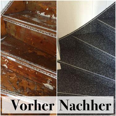 Steinteppich Auf Holztreppe by Holztreppe Mit Steinteppich Renovieren Steinteppich In