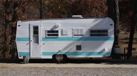 travel trailer restoration ideas restoration of vintage 1972 cer part 1 youtube