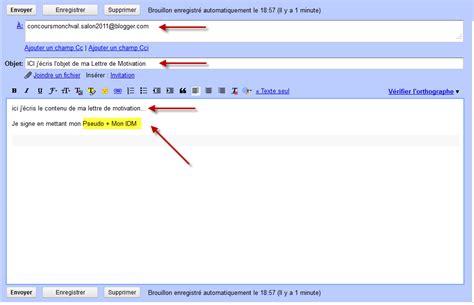 Lettre De Motivation Par Email Monchval Le Officiel Octobre 2011