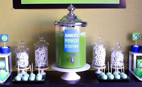 video game themed birthday party video games birthday party ideas photo 3 of 17 catch