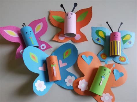 butterfly toilet paper roll craft toilet paper roll butterfly my school crafts
