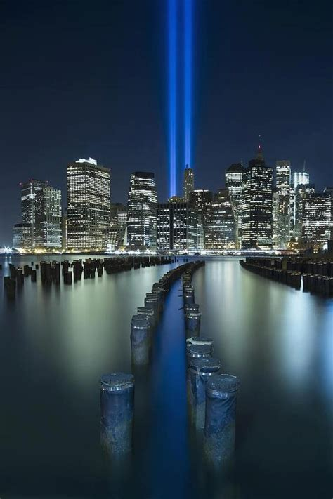 new york city 9 11 tribute in light never forget 911