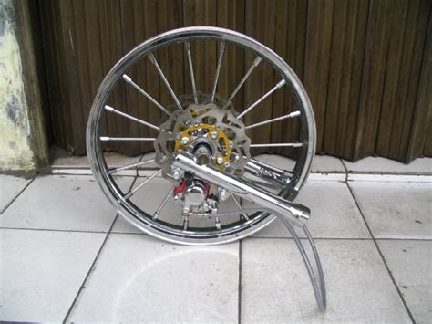 Seal Shock Depan Scoopy Oracle Modification Concept Velg Honda Scoopy