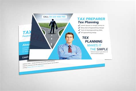 Tax Professional Business Cards Template by Tax Prep Flyer Template Psd Free 187 Designtube