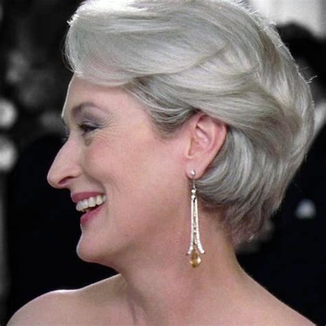 short layers are from the devil another side view of miranda priestly s hair i need a