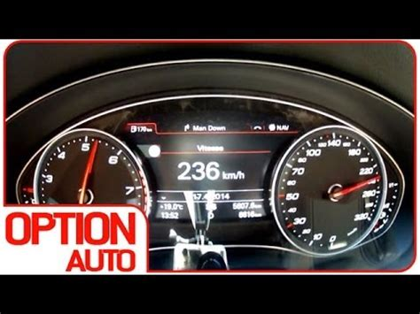 Audi Rs6 0 200 by 0 200 Km H Audi Rs6 Digiservices Option Auto