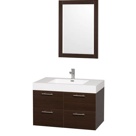 wyndham collection amare 36 in vanity in espresso with