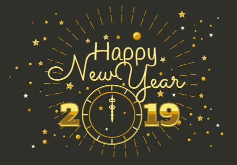 happy  year  typography vector   vectors clipart graphics vector art