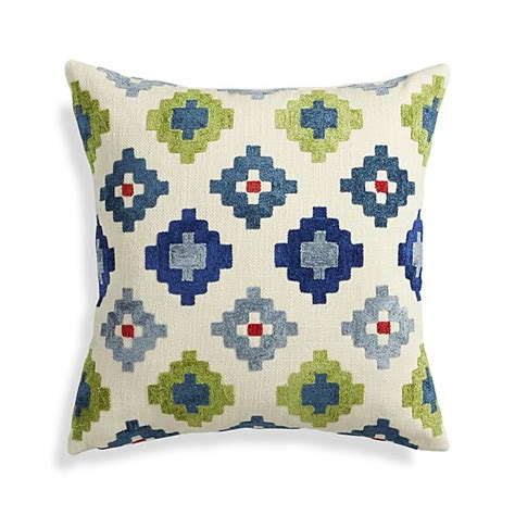 posner 20 quot pillow crate and barrel