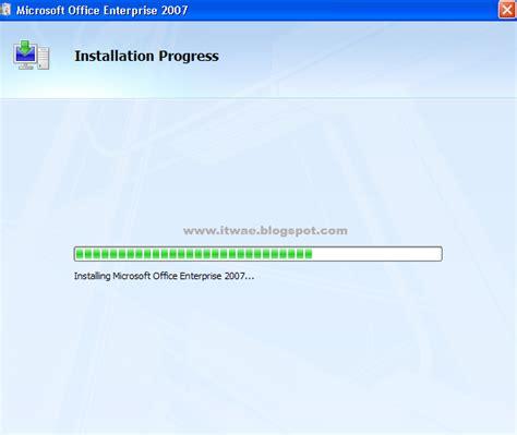 Microsoft Office 2007 Bajakan it wae cara install microsoft office 2007 version info teknologi