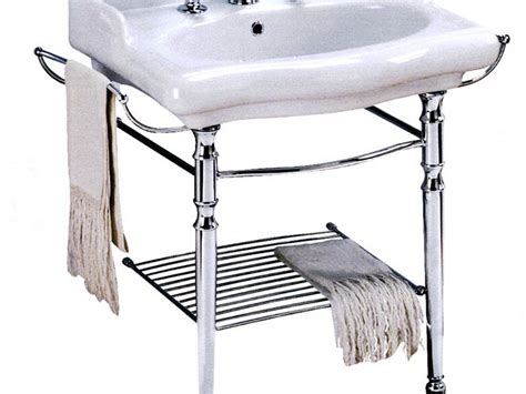 console sink with chrome console bathroom sinks with chrome legs home design ideas