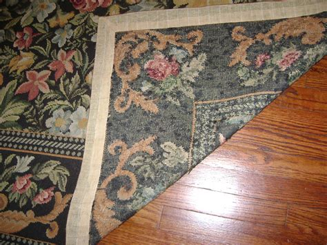 What Is A Rug by I Purchased A Beautiful Handmade Floral Needlepoint Rug 8x10