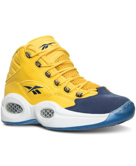 question sneakers reebok s question mid all basketball sneakers