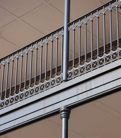 Balcony Banister by Traditional Cast Iron Stair And Balcony Railings