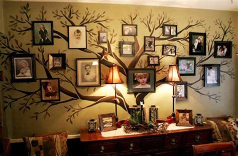 Wall Clock Online Amazon wonderful diy amazing family tree wall art