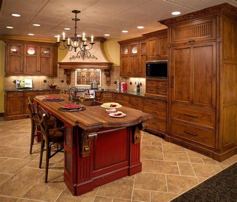 tuscan kitchen islands tuscan kitchen designs photo gallery
