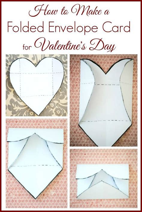 Envelope Fold Card Template by How To Make A Folded Envelope Photo S Day Card