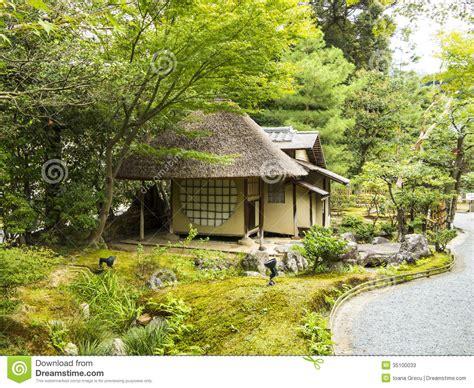tea house business plan small tea house in a garden stock photos image 35100033