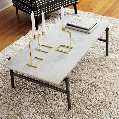 Cb2 Marble Coffee Table Helpful Hints For Decorating On A Budget